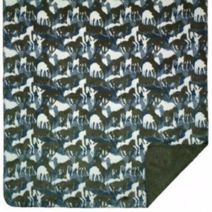 Denali Home Holiday - Throw Blanket, Theme-O-flage Camo Fleece, 50 x 60